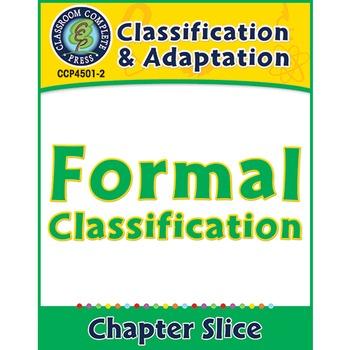 Classification & Adaptation: Formal Classification Gr. 5-8
