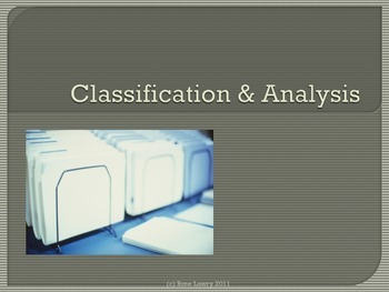 Classification & Analysis Presentation