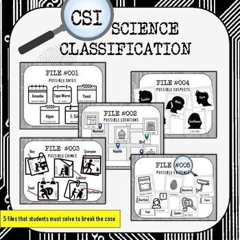 Classification CSI Science