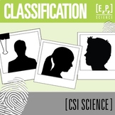 Classification CSI Science