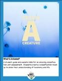 Classification, Create a Creature Project