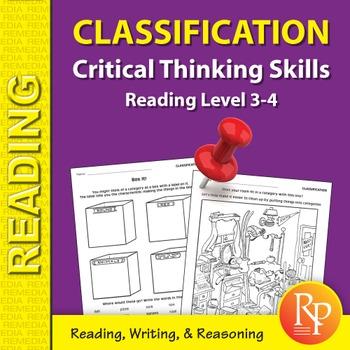 Classification: Critical Thinking Skills