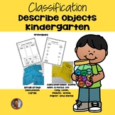 Classification: Describe Objects
