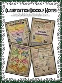 Classification Doodle Notes - Binomial Nomenclature, Kingd