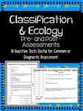 Classification and Ecology Quiz