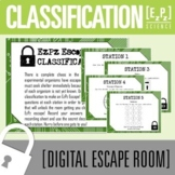 Classification Science Escape Room