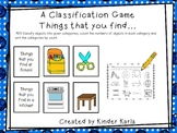 Classification Game: Things That You Find...