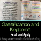 Classification: Hierarchy and Kingdoms Reading Passage Int