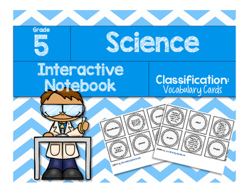 Classification: Vocabulary Cards