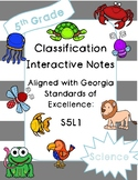 Classification Interactive Notebook