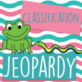 Classification Jeopardy