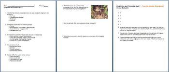 Classification Kingdoms Unit Bundle - 13 Files