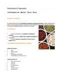 Classification & Organization
