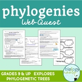 Classification- Phylogeny and Phylogenetic Trees Web Quest