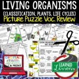 Classification, Plants, Life Cycles Picture Puzzle Study G
