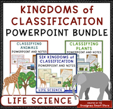 Classification Powerpoint and Fill-In Notes BUNDLE