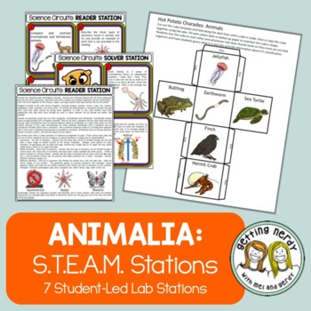 Animal Classification - Science Centers / Lab Stations