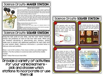 Classification Bundle - Science Centers / Lab Stations
