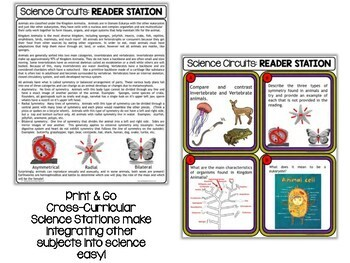 Classification - Science Centers / Lab Stations Bundle