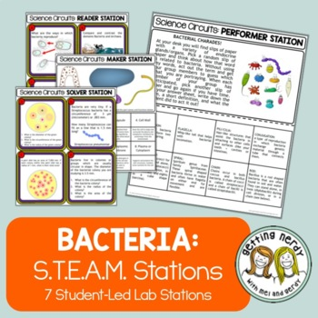 Classification - Science Centers / Lab Stations - Bacteria