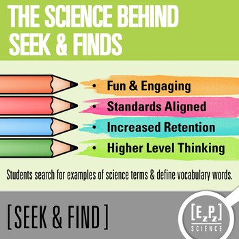 Classification Seek and Find Science Doodle Page