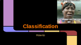 Classification Slideshow