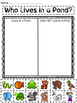 Classification Sort Bundle {Ocean, Pond, Hibernation and Insect}