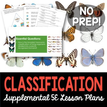Classification - Supplemental Lesson - No Lab
