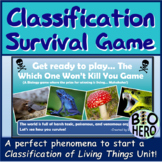 Classification Survival Game