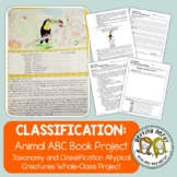 Classification - Unique Animal Book Group Project - Distance Learning