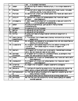Classification Test
