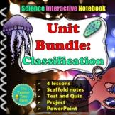 Classification Unit Bundle (Lessons, unit plan, presentati