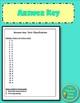 Classification Unit Editable Test (Includes Reflection Activity)