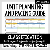 Classification Unit Planning Guide