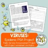 Epidemic Public Service Announcement Project - PSA