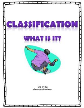 "Classification ""What is it?"""