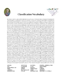 Classification Word Search