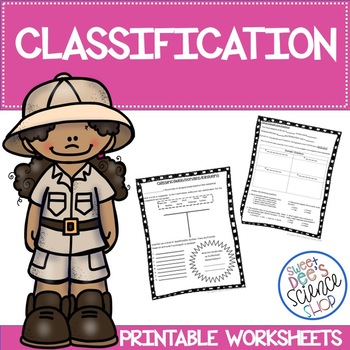 Classification Worksheet