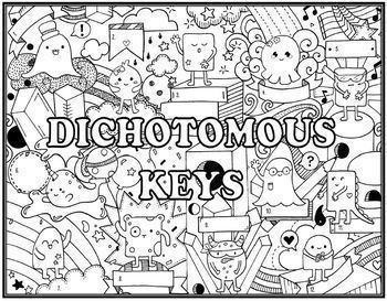 Classification & Dichotomous Key Seek and Find Science Doodle Page Combo