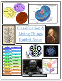 Living Things and Classification Guided Cornell Notes