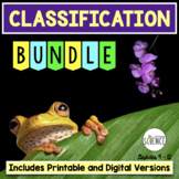 Classification Bundle | Printable and Digital Distance Learning