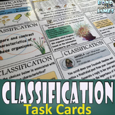 Classification and Taxonomy: Task Cards