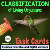 Classification and Taxonomy Task Cards