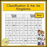 Classification and the Six Kingdoms BINGO
