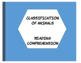 Classification of Animals- An ELD Reader