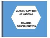 Classification of Animals- An ELD Reader