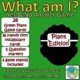 Classification of Green Plants - Taxonomy - What am I? Card Game (Yes/No)