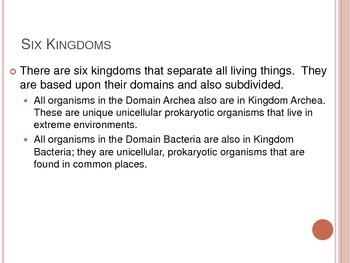 Classification of Life - Domains and Kingdoms - Interactive Notebook Notes