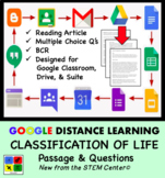 Classification of Life - Google Doc - Article & Questions - Distance Learning