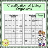 Classification of Living Organisms BINGO